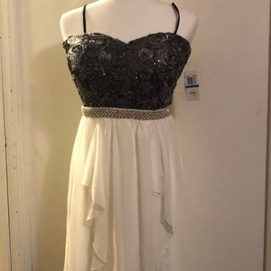 NWT City Triangles Strapless Prom Formal dress 9